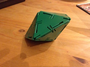 Not a Platonic solid. Oops!